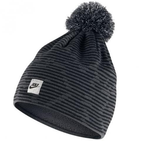 21d382e9 Nike Camo Animal Knit Bobble Hat Dark Grey/Black $22.00