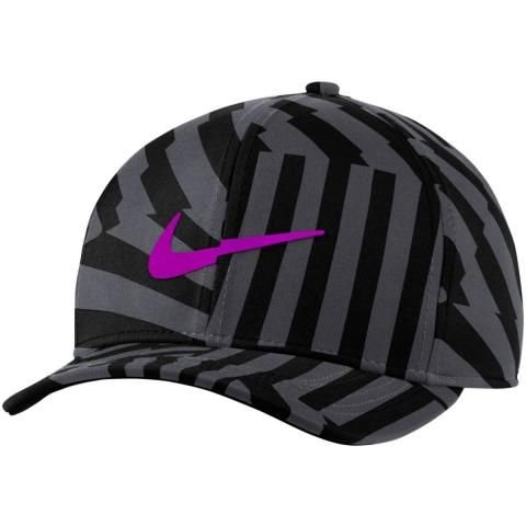 Nike Classic 99 Print Baseball Cap Black/Smoke Grey/Purple