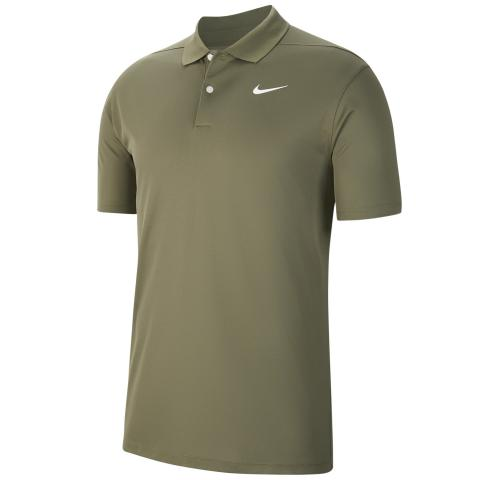 Nike Dry Victory Solid Polo Shirt Brown