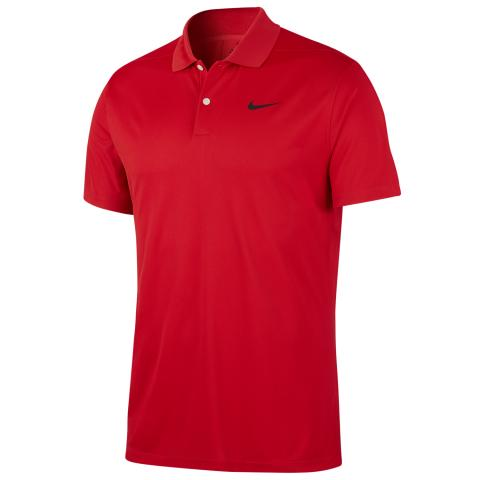 Nike Dry Victory Solid Polo Shirt University Red