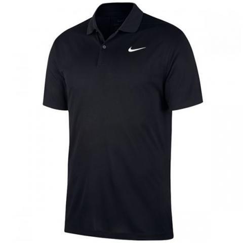Nike Dry Victory Solid Polo Shirt Black
