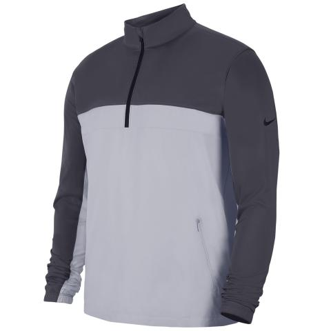 Nike Shield Victory Zip Neck Windproof Black/Grey