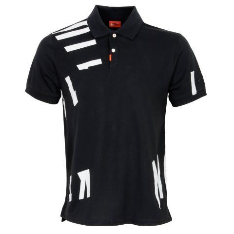 Nike Dry Nike Hacked Polo Shirt Black