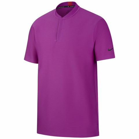 Nike Tiger Woods Speed Blade Polo Shirt Vivid Purple