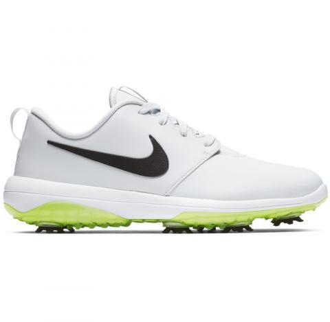 abcf0be06e2fa3 Nike Roshe G Tour Golf Shoes Pure Platinum/Black/Volt Glow