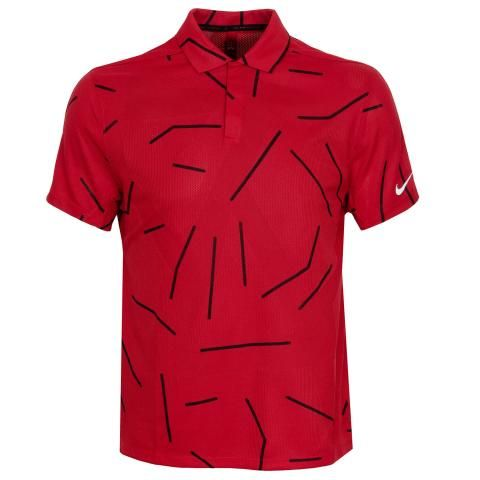 Nike Tiger Woods Dry Course Jacquard Polo Shirt