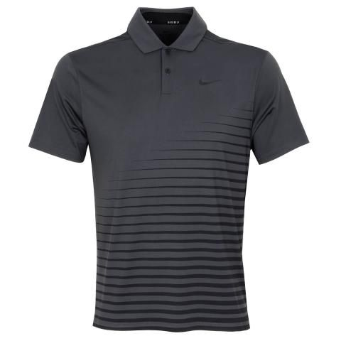 Nike Dry Vapor Stripe Graphic Polo Shirt