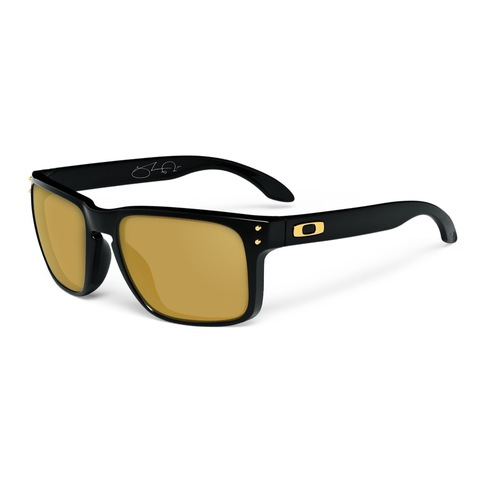 032f76591d Oakley Holbrook Shaun White Gold Collection Polished Black Sunglasses