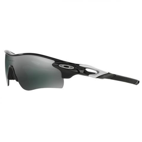 55f5b573a9a Oakley Radarlock Path Sunglasses Polished Black with Black Iridium   VR28  Lens