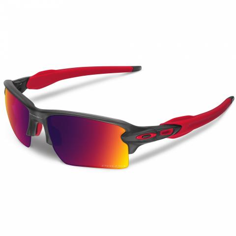 805ebd44d6 Oakley Flak 2.0 XL Matte Grey Smoke Sunglasses with Prizm Road Lens ...