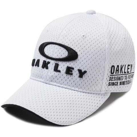 94a796dc0ad Oakley BG Fixed Baseball Cap White