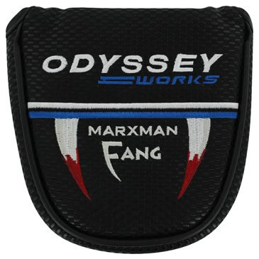 Odyssey Works Marxman Fang Mallet Golf Putter Headcover Black/Silver/Blue