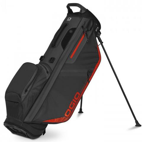 OGIO Fuse Aquatech 304 Waterproof Golf Stand Bag Grey/Neon