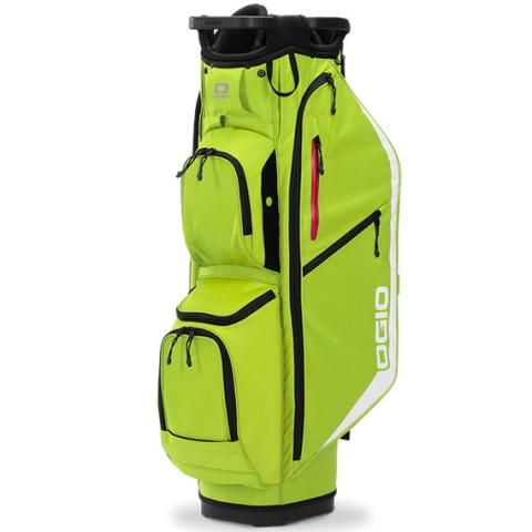 OGIO Fuse 14 Golf Cart Bag Glow Sulpher