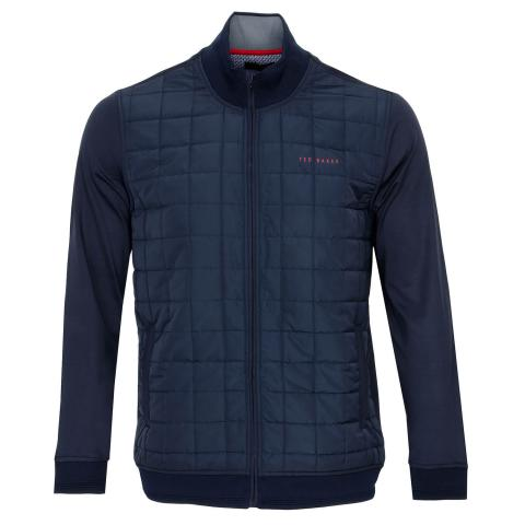 Ted Baker Trolley Full Zip Padded Jacket Navy
