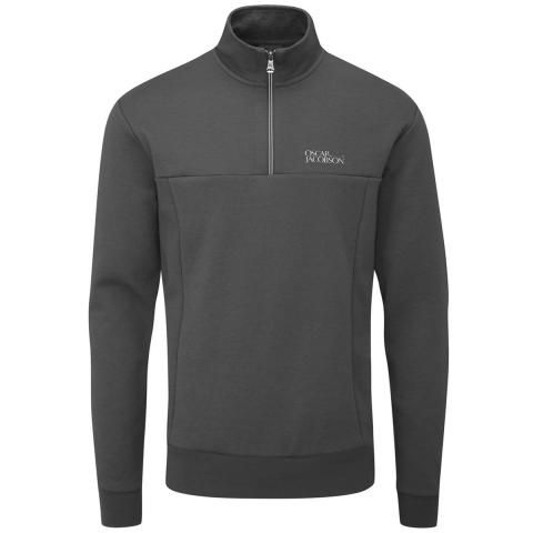 Oscar Jacobson Hawkes Tour Sweater Pewter
