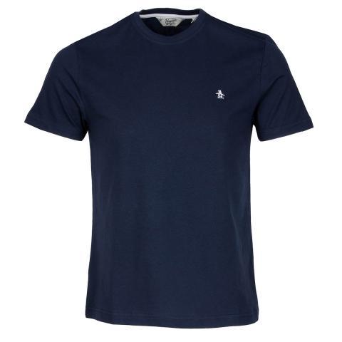 Original penguin pin point tee dark sapphire scottsdale golf for Golf shirt with penguin logo