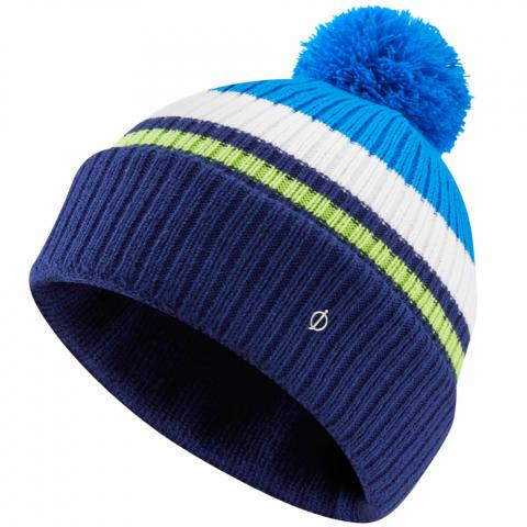 Oscar Jacobson Monroe Winter Bobble Hat Navy/Royal Blue