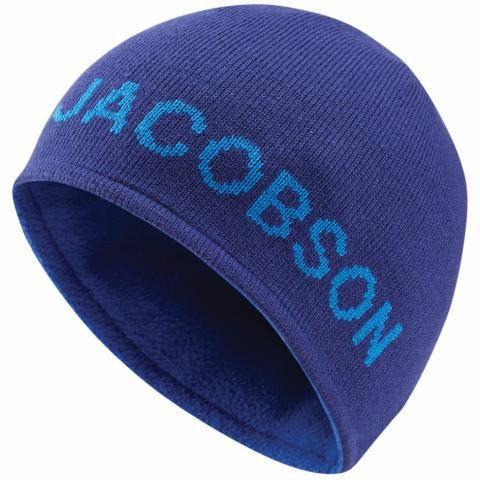 Oscar Jacobson Mount Reversible Winter Beanie Hat Navy