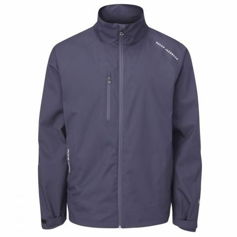 Oscar Jacobson Preston Waterproof Golf Jacket Navy