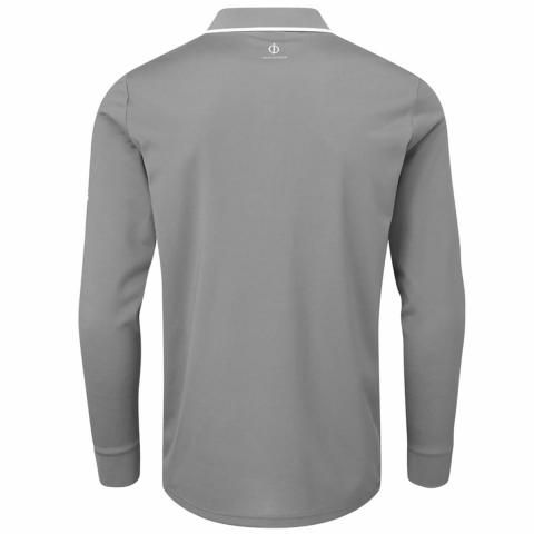 Oscar Jacobson Sheldon Long Sleeve Polo Shirt