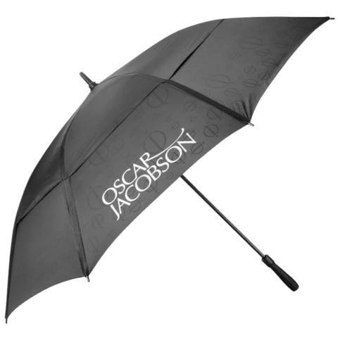 Oscar Jacobson Double Canopy Golf Umbrella Black