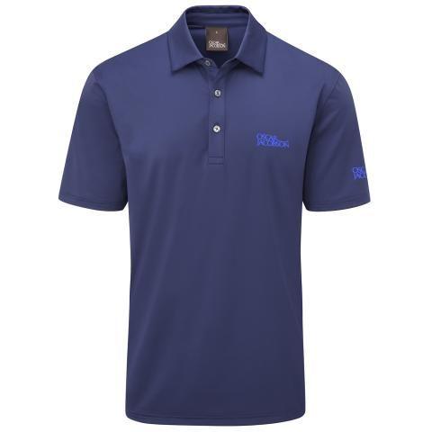 Oscar Jacobson Chap Tour Polo Shirt Navy