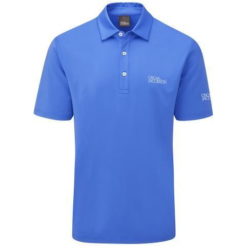 Oscar Jacobson Chap Tour Polo Shirt Royal Blue