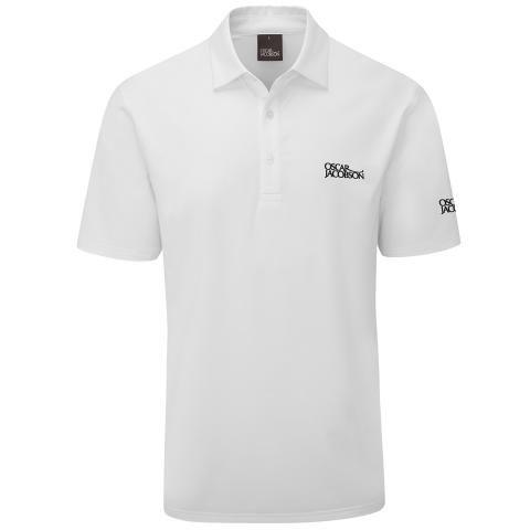Oscar Jacobson Chap Tour Polo Shirt White