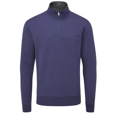 Oscar Jacobson Hawkes Tour Sweater Navy