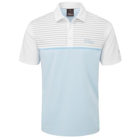 Oscar Jacobson Hurstbourne Polo Shirt Sky Blue