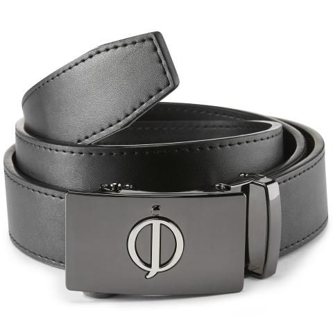 Oscar Jacobson Leather Belt Black