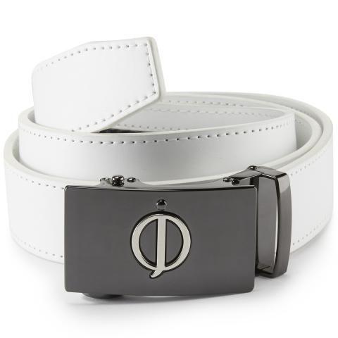 Oscar Jacobson Leather Belt White