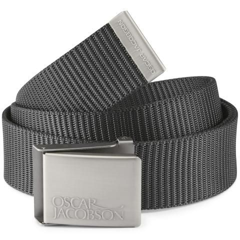 Oscar Jacobson Webbing Belt Black
