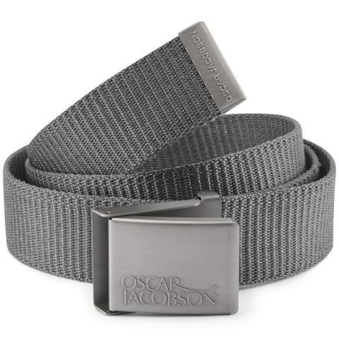 Oscar Jacobson Webbing Belt Grey