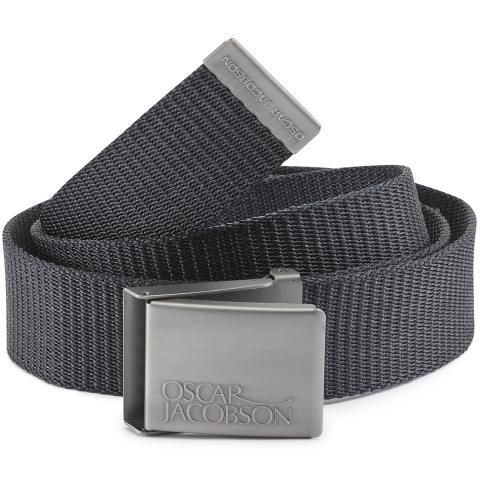 Oscar Jacobson Webbing Belt Navy