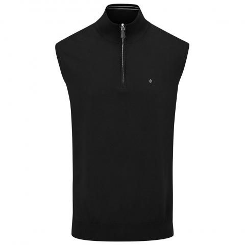 Oscar Jacobson Bob Pin Sleeveless Sweater Black