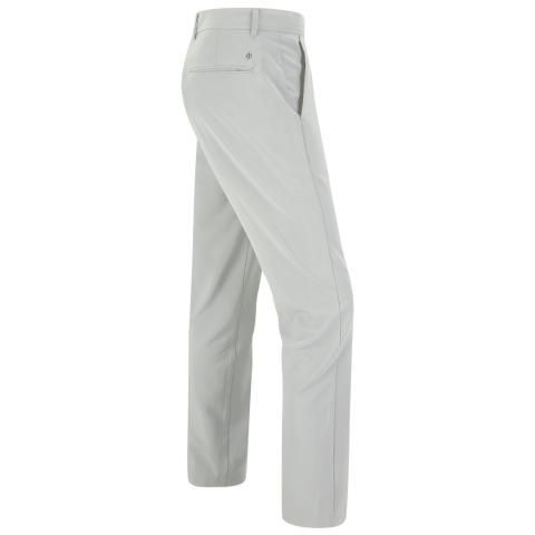 Oscar Jacobson Davenport Golf Trousers Light Grey