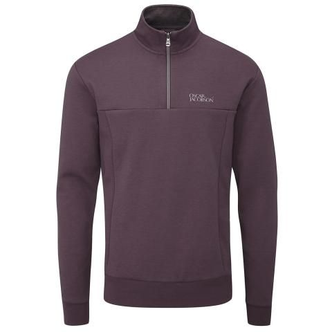 Oscar Jacobson Hawkes Tour Sweater Plum