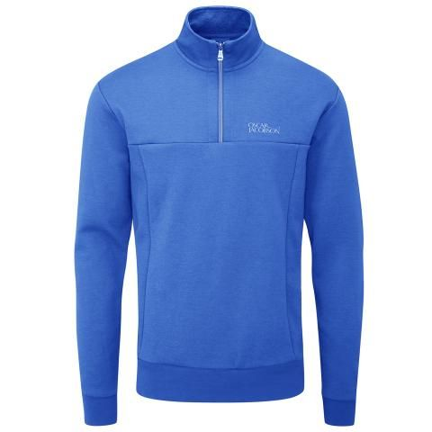 Oscar Jacobson Hawkes Tour Sweater Royal Blue
