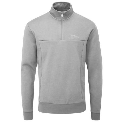 Oscar Jacobson Hawkes Tour Sweater Light Grey