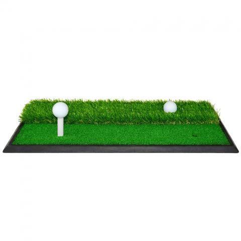 PGA Tour Launch Pad Pro 2 in 1 Driving Mat Dimensions: 63.5cm x 34cm