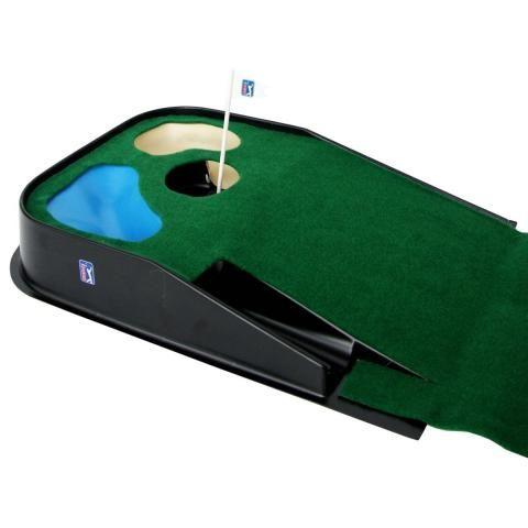 PGA Tour Indoor & Outdoor Golf Practice Putting Mat Green