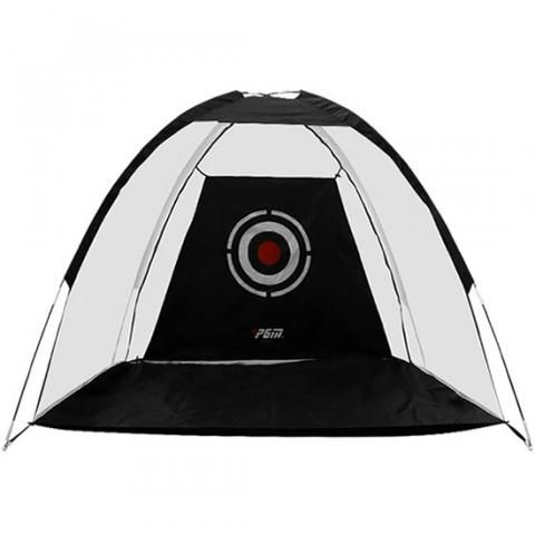 PGM Full Swing Indoor/Outdoor Golf Practice Net Black