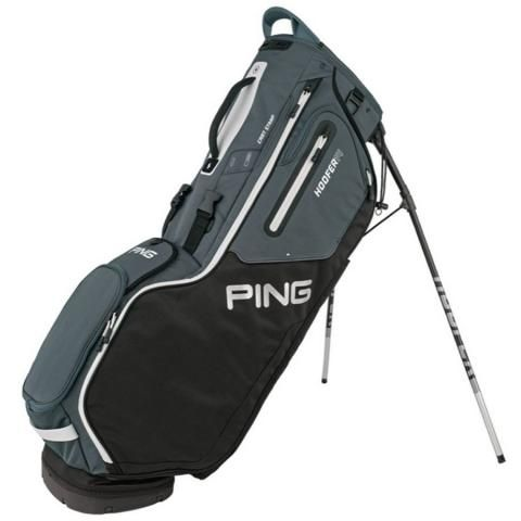 PING Hoofer 14 Golf Stand Bag Black/Slate/White