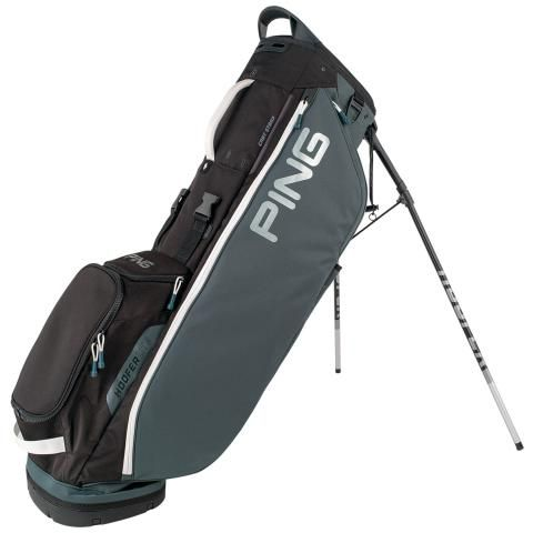 PING Hoofer Lite Golf Stand Bag Slate/Black/White