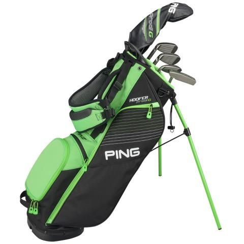 Ping Prodi G Junior Golf Stand Bag Small - Black/Electric Green