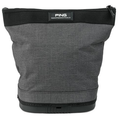 PING Range Practice Ball Bag Charcoal/Black