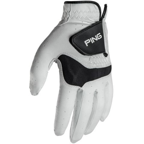 PING Sport Tech Golf Glove Right Handed Golfer / White