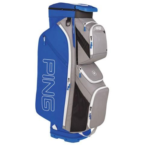 PING Traverse Golf Cart Bag Silver/Royal/White